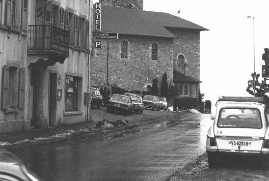 Place du village Troistorrents