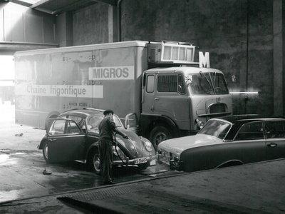 Migros Valais: garage