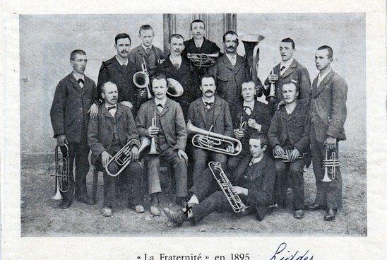 La Fraternité de Liddes 1893
