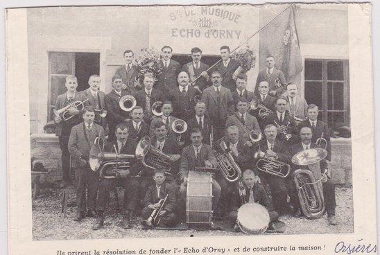 Société de Musique '' Echo dÔrny''