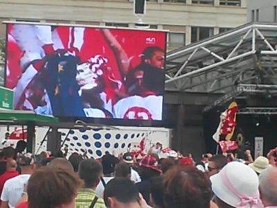 FC Sion - la 13ème victoire de la coupe suisse à la Place de la Planta