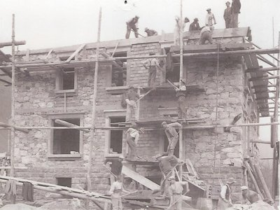 Construction de la villa Conforti