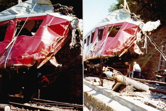Collision du M-O à Martigny-Bourg 1984