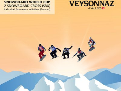 FIS Snowbord World Cup Cross (SBX) Veysonnaz 2015
