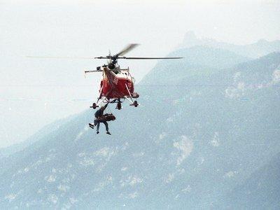 Sauvetage héliporté