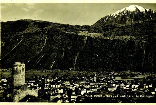 Carte postale de Martigny