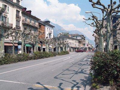 Place centrale de Martigny