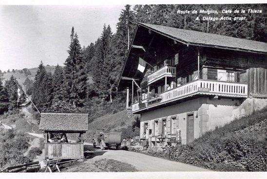 Café de la Thiésaz