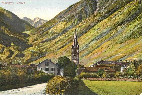 Martigny- L'Abbaye, Le col de la Forclaz et Croix-de-fer