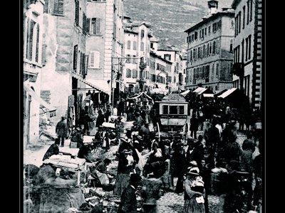Le Marché de Sion en 1861