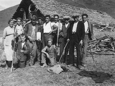 Lens, Cave d'Err de Lens, vers 1938