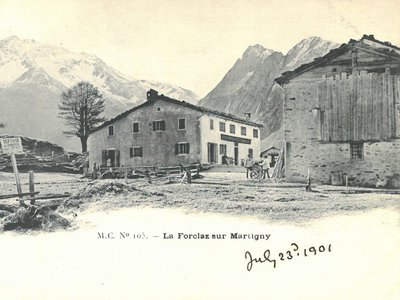La Forclaz sur Martigny