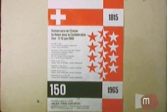 150e anniversaire de l'entrée du Valais dans la Confédération