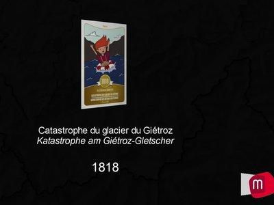 Catastrophe du glacier du Giétroz de 1818
