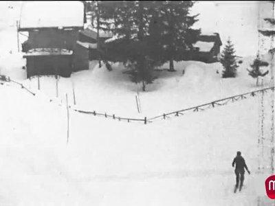 Ski et escalade, La Creusaz