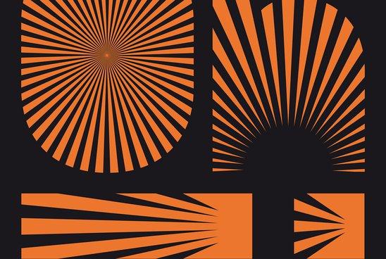 Affiche du Oh! Festival (Orange)
