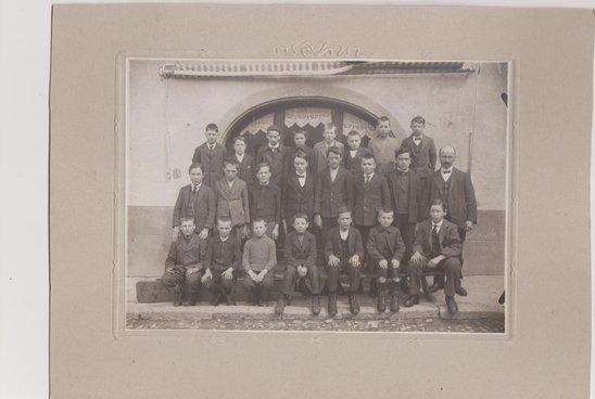 Ecole Supérieure d'Orsières  en 1922-1923