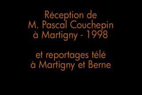 Réception de M. Pascal Couchepin à Martigny