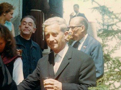 Lens, 1er août 1967 : accueil de M. Roger Bonvin, conseiller fédéral