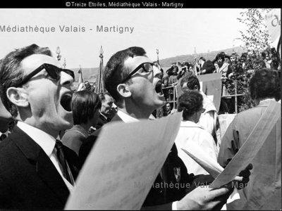 XXIXème Festival des chanteurs du Valais central, Veyras, 1967