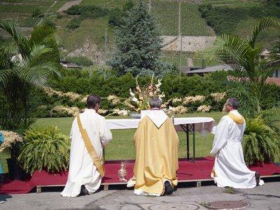 Fête-Dieu à Martigny-Bourg