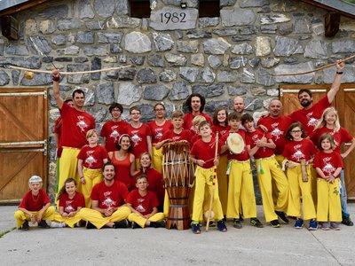 Camp 2019 Capoeira dos Alpes