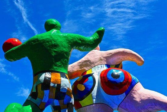 Fondation Pierre Gianadda à Martigny  : Le Parc de Sculptures