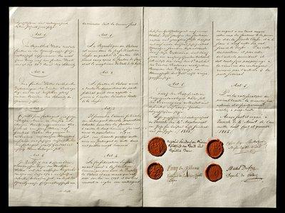 Acte de réunion du Valais à la Confédération