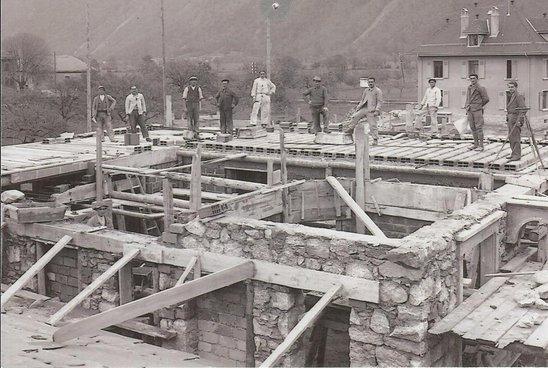 Construction de la villa Conforti