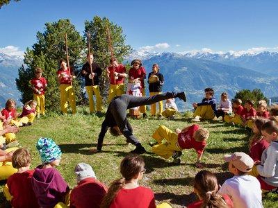 Roda au Camp 2017 de la Capoeira dos Alpes