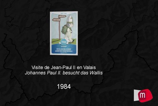 Visite de Jean-Paul II en Valais, 1984