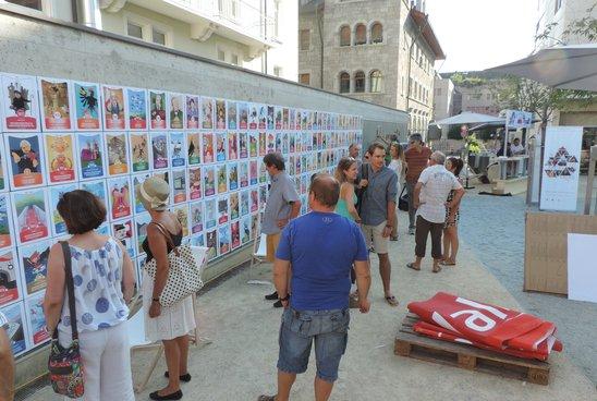 Exposition des cartes du jeu Valais*Wallis Digital. Sion, fête du Bicentenaire