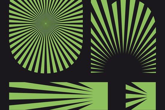 Affiche du Oh! Festival (Vert)