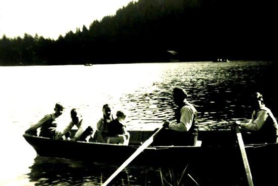 Promenade en barque sur le lac de Champex