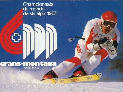 Crans-Montana Championnats du monde de ski alpin 1987