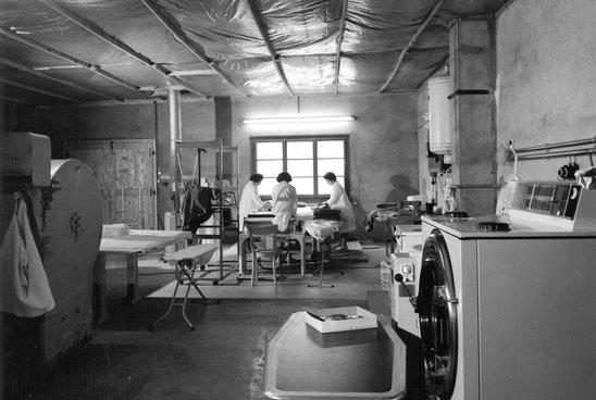 Migros Valais: blanchisserie